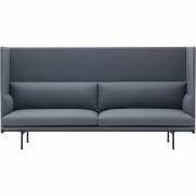Muuto - Outline Highback 3-Sitzer Sofa