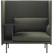 Muuto - Outline Highback Work 1-Sitzer Sofa
