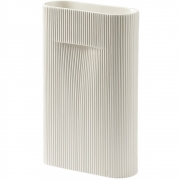 Muuto - Ridge Vase Height 35 | Off-White