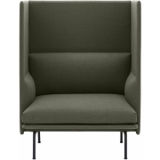 Muuto - Outline Highback 1-Sitzer Sofa