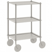 Muuto - Flow Trolley 3 couches Gris