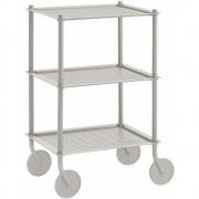 Muuto - Flow Trolley 3-Layer Grey