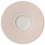 Villeroy & Boch Uni Pearl - Café au lait Untertasse (4er Set)