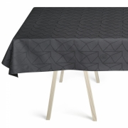 Georg Jensen Damask - Arne Jacobsen Tablecloth Asphalt