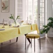 Georg Jensen Damask - Nappe de Pâques au citron 165 x 260 cm
