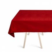 Georg Jensen Damask - Weihnachtstischdecke Deep Red 140 x 270 cm