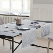 Georg Jensen Damask - Arne Jacobsen Table Runner Opal Grey