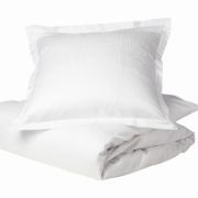 Georg Jensen Damask - Facet Bed Linen White