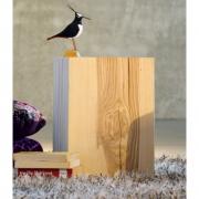 Jan Kurtz - Block Hocker Esche eckig 46 cm
