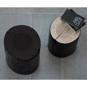 Jan Kurtz - Block Stool lacquerd 46 cm | Black