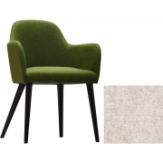 Jan Kurtz - Flaminia fauteuil Naturel | Hêtre wenge