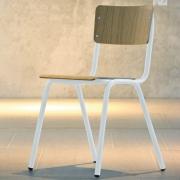 Jan Kurtz - Zero Stuhl Eiche / Weiß