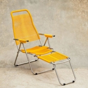 Jan Kurtz - Spaghetti fauteuil exclusif édition limitée jaune