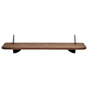 AYTM - Aedes Wall Shelf Small Walnut / Black