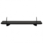 AYTM - Aedes Wall Shelf Small Black