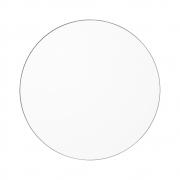 AYTM - Circum Mirror Ø 70 cm Clear / Taupe