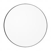 Miroir Circum Ø 70 cm - AYTM Clair / Noir