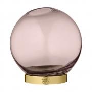 AYTM - Globe Vase Rose / Gold / Ø10xH10 cm