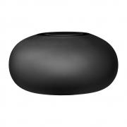 AYTM - Hydria Vase Black Black / Ø23xH12,5 cm