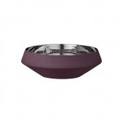 AYTM - Lucea Schale Bordeaux  / Ø15,2xH4,9 cm