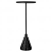 AYTM - Solum Table Black / Ø32xH78 cm