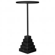 AYTM - Solum Tisch Black / Ø32xH67 cm