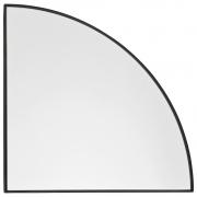 AYTM - Unity Wandspiegel, Viertelkreis Black