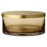 AYTM - Tota Behälter mit Deckel Amber / Ø15,6 cm