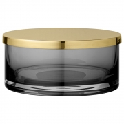 AYTM - Tota Behälter mit Deckel Black / Ø15,6 cm