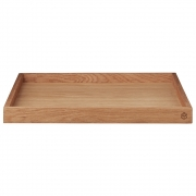 AYTM - Unity Wooden Tray Oak / L24,1xW24,1xH3 cm