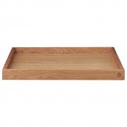 AYTM - Unity Holztablett Oak / L35,7xB35,7xH3 cm