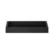 AYTM - Unity Holztablett Black / L51,5xB51,5xH3 cm