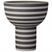 AYTM - Varia Skulptur Vase Ash / Black
