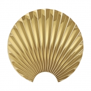 AYTM - Concha Wall Hooks Gold / H11,5 cm