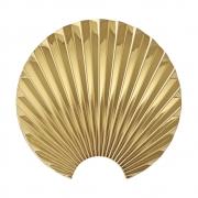 AYTM - Concha Wall Hooks Gold / H15,5 cm