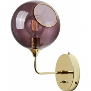 Design by Us - Ballroom the Wall Wall Lamp Purple / 37 cm