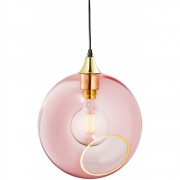 Design by Us - Ballroom XL Pendelleuchte Rosa