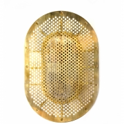 Design by Us - Night Rider Wandlampe Raw Brass