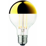 Design by Us - Globe Bulb Ø80 Crown Gold