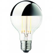 Design by Us - Globe Bulb Ø80 Crown Silver