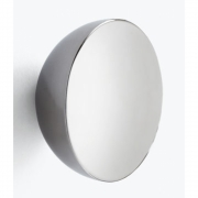 New Works - Aura Wall Mirror Stainless Steel Small