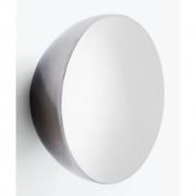 New Works - Aura Wall Mirror Stainless Steel Large