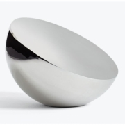 New Works - Aura Table Mirror Stainless Steel