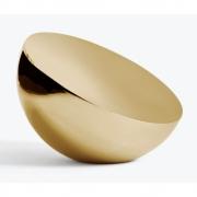 New Works - Aura Table Mirror Brass