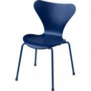 Fritz Hansen - Series 7 Children Chair Blue