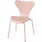 Fritz Hansen - Series 7 Chaise Enfants Rose