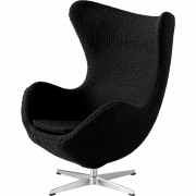 Fritz Hansen - Miniature Egg Black