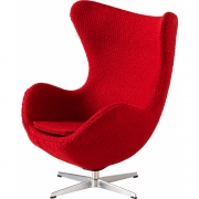 Fritz Hansen - Miniature Egg Rouge