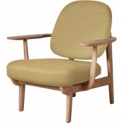 Fritz Hansen - Fred Lounge Chair, oiled oak