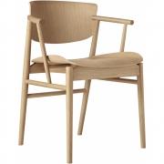 Chaise N01, chêne - Fritz Hansen